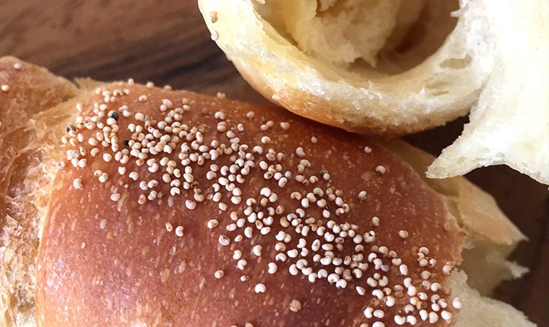 バターのしみ込んだ特別なパン