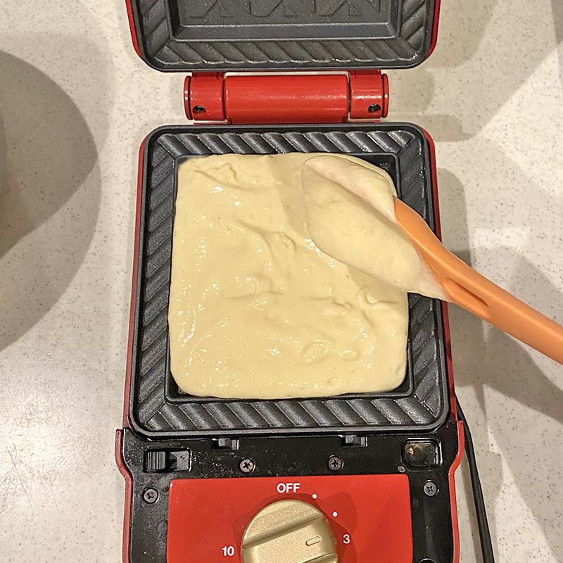 BRUNOブルーノのホットサンドメーカーホットケーキレシピ
