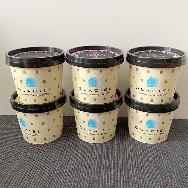 ルタオのカップアイス