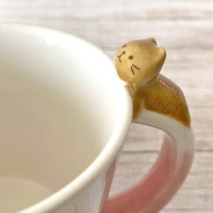 ハピンズHAPiNSのFukuFukuNyankoふくふくにゃんこマグカップ