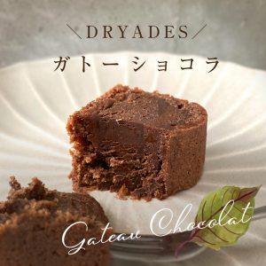 チョコレート専門店DRYADESドリュアデスのガトーショコラクラシック