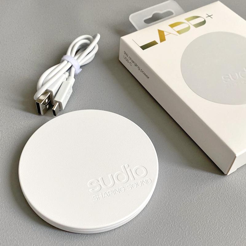 SUDIO LADD+ ワイヤレス充電器開封口コミレビュー