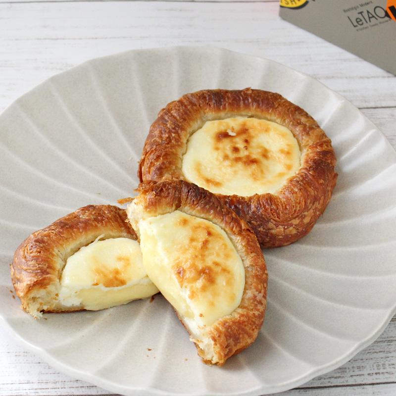 ルタオの焼き立てチーズデニッシュフロマージュデニッシュ