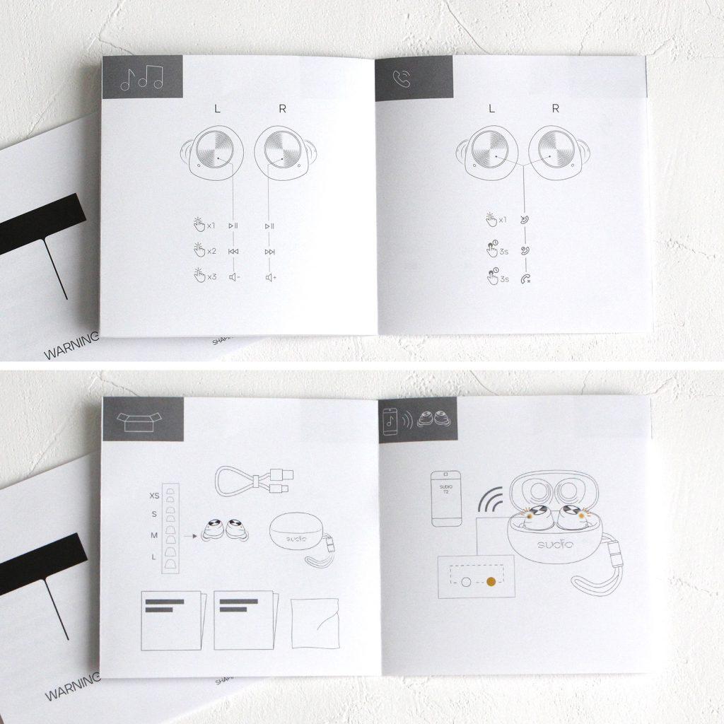 SudioT2スーディオ北欧デザイン高音質完全ワイヤレスアクティブノイズキャンセリングイヤホンミントグリーン開封口コミレビュー説明書